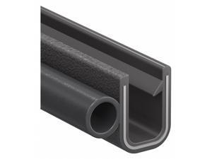 "25 Ft. Trim Lok Inc X2199ht-25 Rubber Seal 0.50/""H P-Shaped"