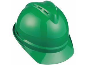 Msa Hard Hat Green  Includes Hard Hat, Suspension, Instructions 10034032
