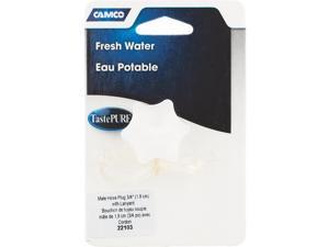 Camco Male Hose Plug with Lanyard 22103