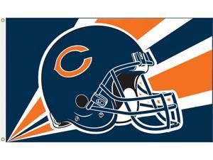 Fremont Die Inc Chicago Bears Flag With Grommetts Flags