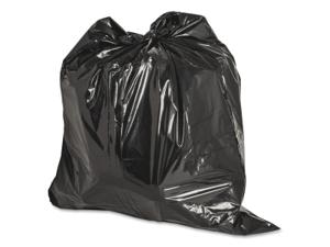 Genuine Joe Heavy-Duty Trash Bags 1.5 Mil 20-30 Gallon 100/CT Black 01532