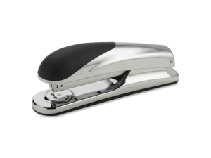 Business Source Full Strip Stapler 20 Sht/ 210 Staple Cap. Chrome/Black 62831