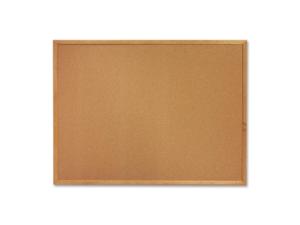 Cork Board, 4'x3', Oak Frame
