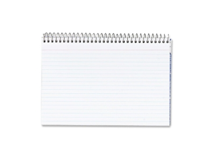 """TOPS Products Spiral Bound Index Cards Ruled Perforated 5""""x8"""" White 40284"""
