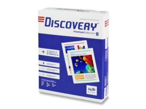 """Discovery Multipurpose Paper 8-1/2""""x11"""" 24 Lb 99 GE 5000Sht/CT WE 22028"""