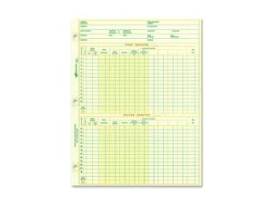 "Dominion Blueline, Inc National Payroll Sheet 1 Year 10-7/8""x8-1/2"" 100SH/PK"