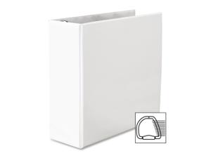 "Avery 4"" Heavy-Duty View Binder, Slant Rings, White, 700 Sheets"