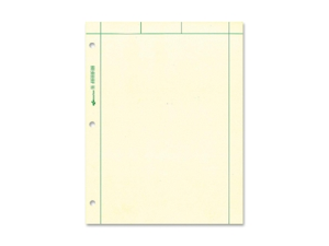 "Rediform 42389 National Computation Pad 200 Sheets Letter 8.50"" x 11"" - 200 / Pad - Green Paper"
