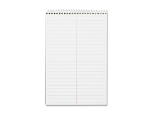 "Business Source Steno Notebook Greg Ruled 6""x9"" 60 Sheets White Paper 26740"