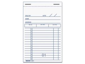 Rediform Sales Receipt Book 10 EA/PK