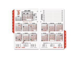 AT-A-GLANCE Burkhart's Day Counter Recycled Desk Calendar Refill, 4 1/2 x 7 3/8, 2013