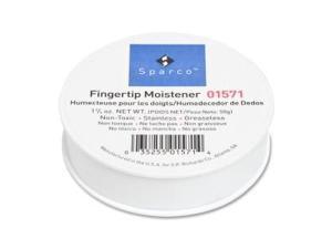 Sparco Fingertip Moistener Nonskid Back 1-3/4 oz. 01571