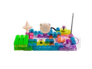 Dimple DC13994 Lectrixs Electronic Building Blocks (120 Projects) Light up Diy Stacking Toys with Kid-Friendly Circuits, 44-Piece Set