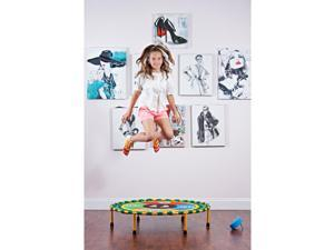 Dimple Mini Dancing Trampoline for Kids; Touch Sensitive Playmat with Bluetooth Technology, Bounce, Jump and Dance to Music
