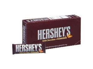 Hersheys Milk Chocolate Wtih Almonds - 36 Bars