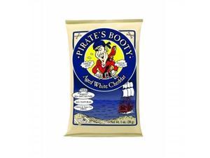 Pirate's Booty Puffs Aged White Cheddar 1 oz Bag 24/Carton 601049