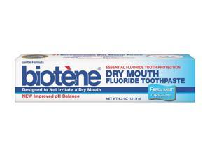 Biotene Toothpaste, Fresh Mint, 4.3 Ounce