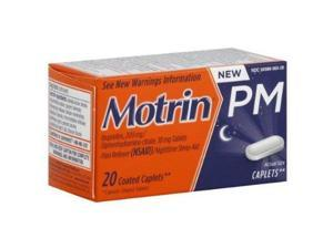 Motrin Pm Pain Reliever Caplets, 20ct