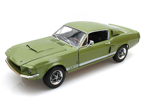 1967 Ford Shelby Mustang GT-500 1/18 Green