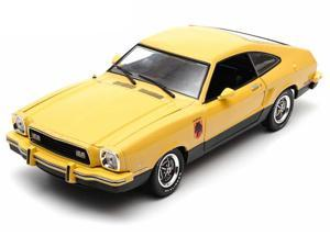 1976 Ford Mustang II Stallion 1/18 Yellow / Black