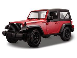 Maisto 1/18 2014 Jeep Wrangler 2014 Red