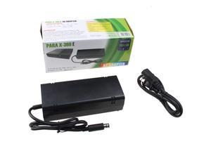 AC Adapter Power Supply Cord For Microsoft XBOX 360 E Console 12V 9.6A