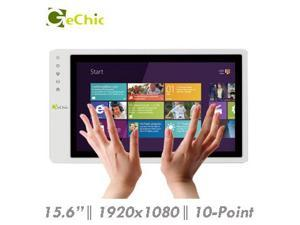 """Gechic On-Lap 1502i 15.6"""" Full HD 1080p IPS LCD Touch Screen Portable Monitor HDMI VGA Input, Built In Speakers"""
