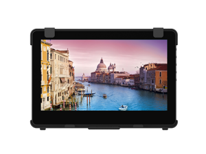 "GeChic 1102I 11.6"" FHD 1080p Portable Touchscreen Monitor with HDMI & VGA video inputs, USB powered, Plug&Play, Ultralight and Slim, Built-in Speakers, Rear Docking"