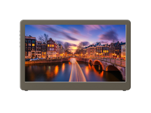 """GeChic 1503E 15.6"""" FHD 1080p Portable Monitor HDMI, VGA Input, USB Powered, Ultralight Weight, Built-in Speakers"""