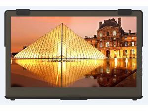 """GeChic 1305H 13.3"""" FHD 1080p Portable Monitor with HDMI, Ultra Slim, Light Weight, Horizontal & Vertical Display Connect, Audio Jack"""