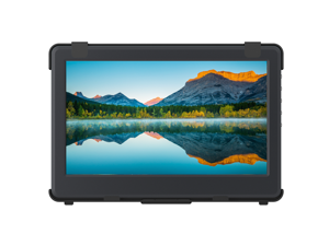 """GeChic 1102E 11.6"""" FHD 1080p Portable Monitor with HDMI & VGA Video inputs, USB Powered, Plug&Play, Ultralight and Slim, Built-in Speakers, Rear Docking Expansion Port"""