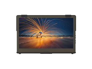 GeChic 1306H 13.3 inch FHD 1080p Portable Monitor with HDMI & USB Type-C inputs, Plug&Play, Ultralight and Slim