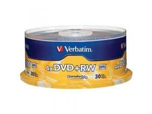 Disc DVD+RW 4.7GB branded 4X 30/spindle