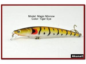 "Akuna Magic Minnow 4.3"" Topwater Fishing Lure"
