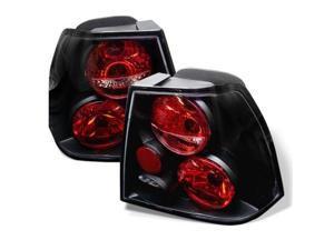 Spyder Auto Volkswagen Jetta 99-04 Euro Tail Lights - Black ALT-YD-VJ99-BK