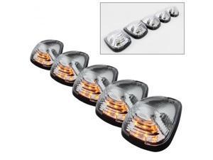 xTune ACC-LED-FDSD99-CR-C Amber LED Cab Roof Lights-Clear 9924583