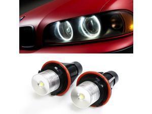 9006 Fits For BMW 650i 525xi 2006-2007 LED Foglights White 80W Fog Light Bulbs