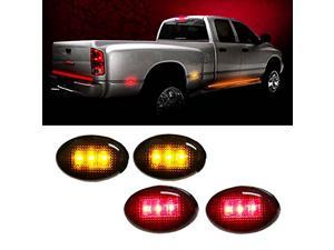 """2x Red Interior Map Reading Dome 1.50/"""" Festoon 6-SMD LED Light Bulbs C6W 6418"""