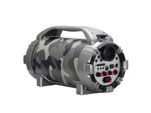 Blackmore BTU-5001-J 750 Watt Portable Rechargeable Bluetooth Speaker - Jungle Camo