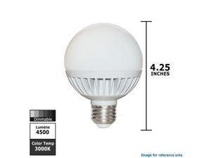 Frosted Warm Omnidirectional Miracle LED 605052 5-Watt A19 Un-Edison Household Light 60W Replacement Bulb