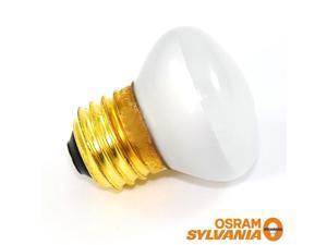 Sylvania 40w 120v R14 Incandescent light bulb