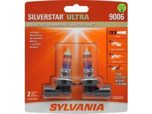 2-PK SYLVANIA 9006 HB4 SilverStar Ultra High Performance Halogen Headlight Bulb
