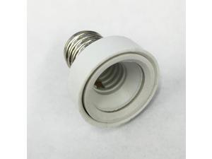 Platinum E12 Candelabra Base to E17 Intermediate Socket Adapter