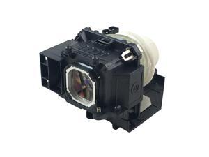 NEC P420X Projector Housing with Genuine Original OEM Bulb