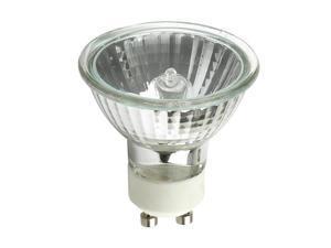 GE EXN G10 50w 120V MR16 GU10 Bright White Flood FL50 w/ FG Halogen Light Bulb