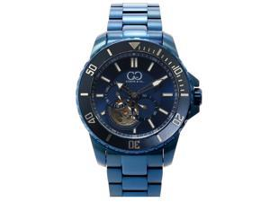 Curtis & Co Big Time Royale 45mm Men's Automatic Wristwatch Blue Case and Blue Dial