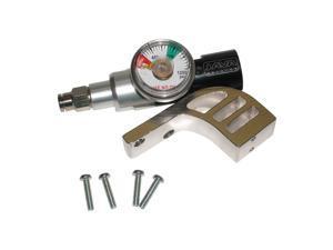 Spyder Paintball Gun CO2 Air Gas Regulator + Gauge Drop Forward Bottomline Set