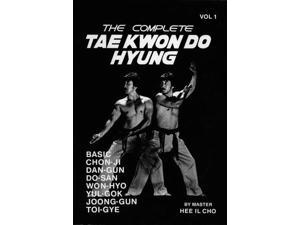 Complete Tae Kwon Do Hyung 1 Book - Hee Il Cho Taekwondo korean karate