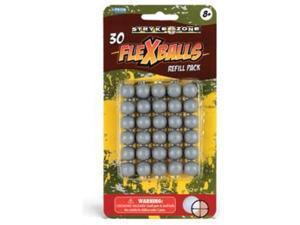 30 pack .50 caliber Soft Gel Reusable Paintballs zball splatmaster reball