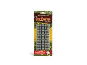 50 Flexballs .50 caliber Gel Reusable Paintballs rubber zballs reballs splatmaster